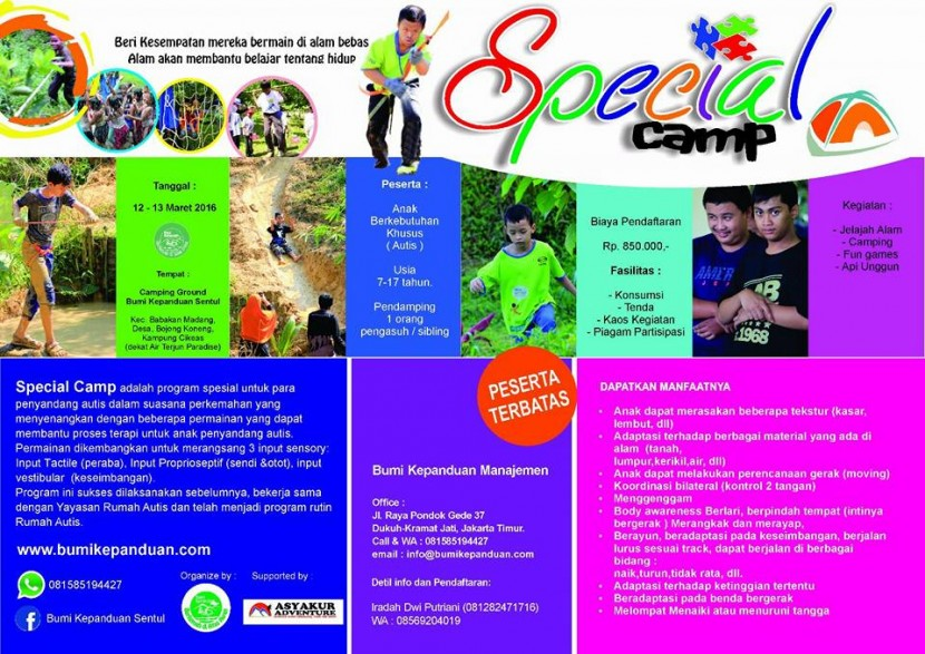 special camp of pamphlet